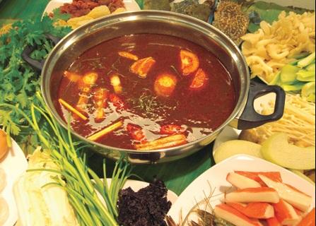Hướng dẫn nấu lẩu hải sản, huong dan nau lau hai san