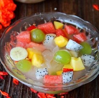 Cách làm chè trái cây ngon mát cho mùa hè, cach lam che trai cay don gian