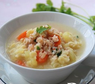 Hướng dẫn làm nui nấu tôm thịt băm cho bé yêu, huong dan lam nui nau tom thit bam cho be yeu