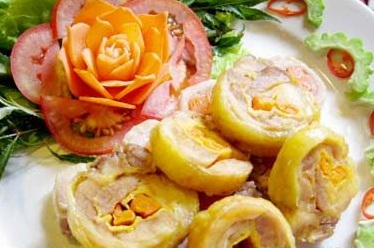 Hướng dẫn làm trứng gà cuộn thập cẩm hấp dẫn, huong dan lam trung ga cuon thap cam hap dan