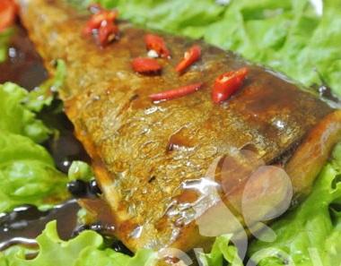 Cách làm món cá thu sốt me chua ngọt, cach lam mon ca thu sot me chua ngot