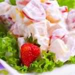 Cách làm salad hoa quả tươi đơn giản mà ngon, cach lam salad hoa qua tuoi don gian tai nha