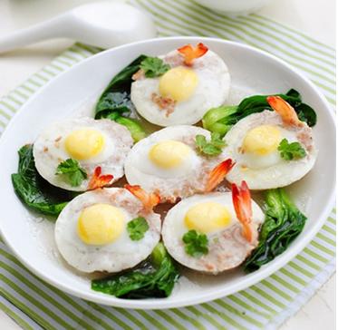 Cách làm trứng cút hấp tôm thịt lạ mà ngon, cach lam trung cut hap tom thit la ma ngon