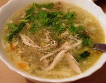 Kết quả hình ảnh cho làm món súp gà