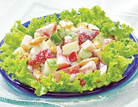 Hướng dẫn làm salad hoa quả tươi, huong dan lam salad hoa qua tuoi