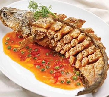 Cách làm cá lóc sốt cay thơm ngon, cach lam ca loc sot cay thom ngon