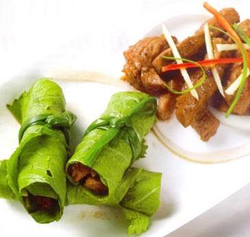 Cách làm món thịt bò áp chảo cuốn lá cải thơm ngon, cach lam mon thit bo ap chao cuon la cai thom ngon