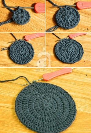 Dạy cách móc mũ len đơn giản, day cac moc mu len don gian