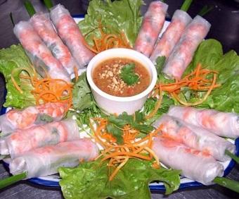 Hướng dẫn làm gỏi cuốn tôm thịt, huong dan lam goi cuon tom thit