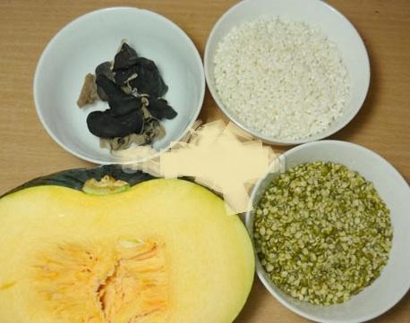 Hướng dẫn nấu chè bí ngô đậu xanh, huong dan nau che bi ngo dau xanh
