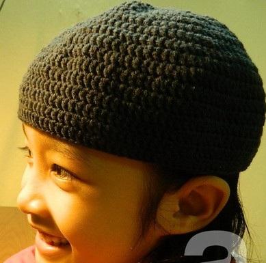 Móc mũ lên đơn giản mà dễ thương, moc mu len don gian