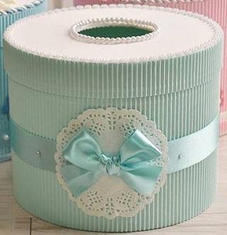 Hướng dẫn làm hộp đựng giấy ăn đơn giản, huong dan lam hop dung giay an don gian