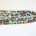 Hướng dẫn làm vòng tay xinh xắn từ ống hút , huong dan lam vong tay xinh xan