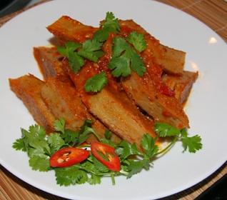 Cách làm món chả cá rán sốt chua ngọt, cach lam cha ca ran sot chua ngot