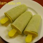 Cách làm kem đậu xanh, cach lam kem dau xanh