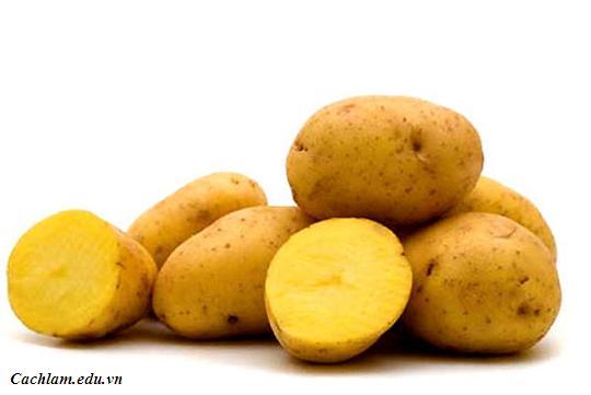 Hướng dẫn làm bim bim khoai tây, cach lam bim bim khoai tay