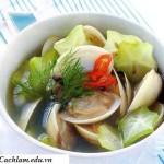 Cách làm món canh ngao chua khế ngon và mát