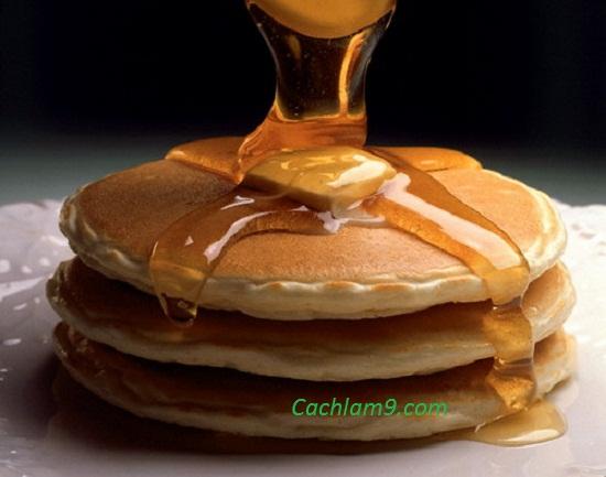 Tự làm và thưởng thức bánh pancake cực ngon