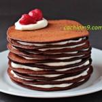 Cách làm bánh pancake thơm lừng gọi mời buổi sáng