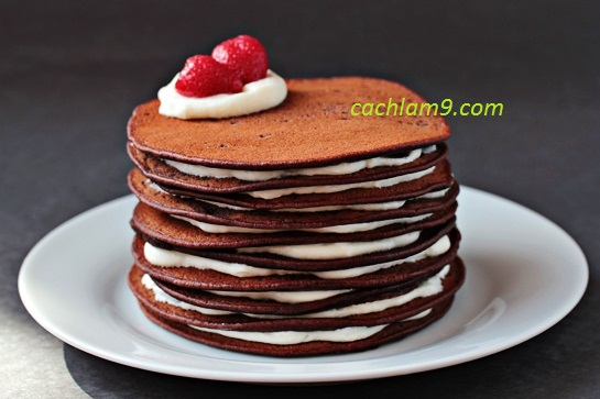 Cách làm bánh pancake ngon và thơm tại nhà