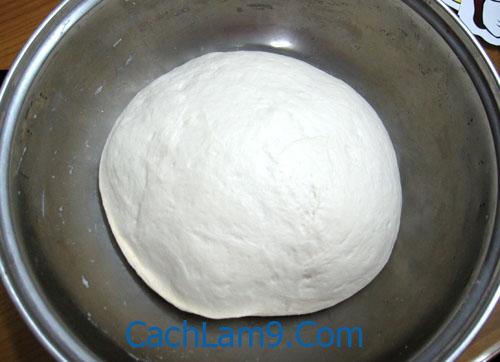Ủ bột bánh bao khoảng 1 - 2 giờ - Cách làm bánh bao nhân thịt