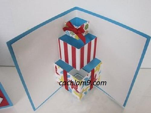 Cách làm thiệp sinh nhật handmade cực đẹp và đơn giản