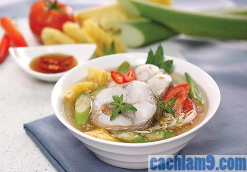 Cách nấu canh chua cá lóc hương vị Nam Bộ