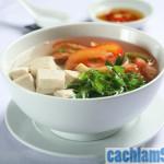 Cách nấu canh chua chay ngon và lạ miệng