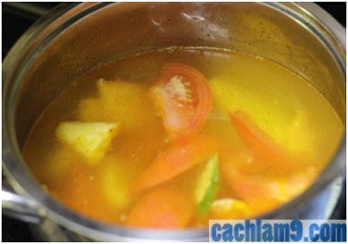 Cách nấu canh chua chay ngon nhất