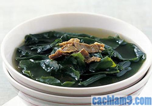 Cách nấu canh rong biển ngon như người Hàn Quốc
