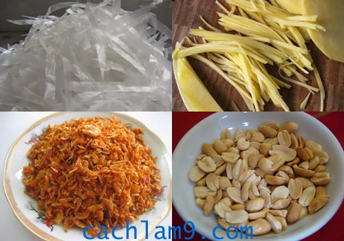 Nguyên liệu và cách làm bánh tráng trộn ngon