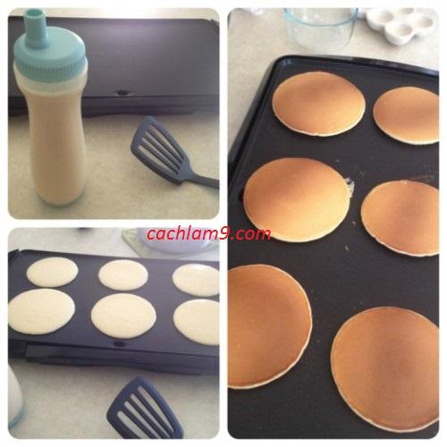 Cách làm bánh pancake ngon theo hương vị châu Âu