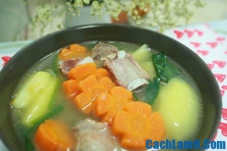 Cách nấu canh sườn thập cẩm cực ngon và dinh dưỡng