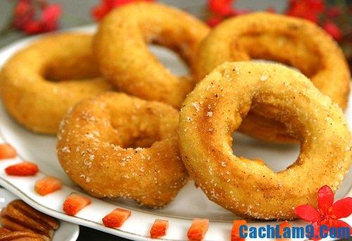Cách làm bánh donut ngon và thơm tại nhà