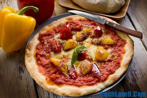 Cách làm bánh Pizza đơn giản và ngon