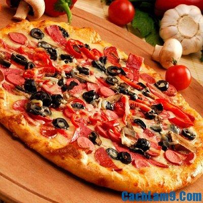 Cách làm bánh pizza ngon và đơn giản, nhanh