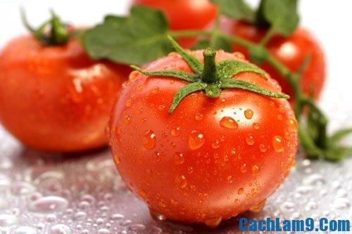 Hướng dẫn cách làm trắng da từ hoa quả: cà chua, dưa chuột, khoai tây