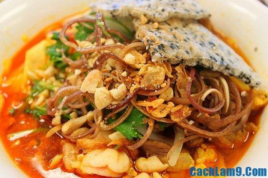 Cách nấu mì Quảng ngon giòn nhất