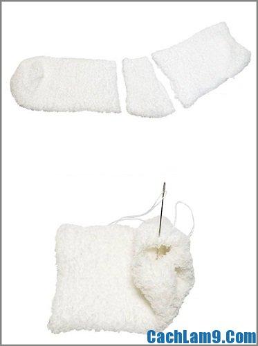 Cách làm quà sinh nhật handmade cho bạn trai - người tuyết