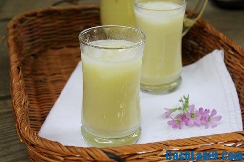 Cách làm sữa đậu xanh nước dừa ngon