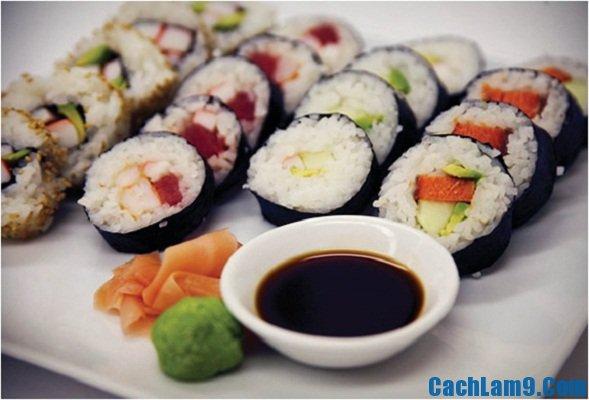 Cách làm sushi ngon - Hướng dẫn làm sushi Nhật Bản