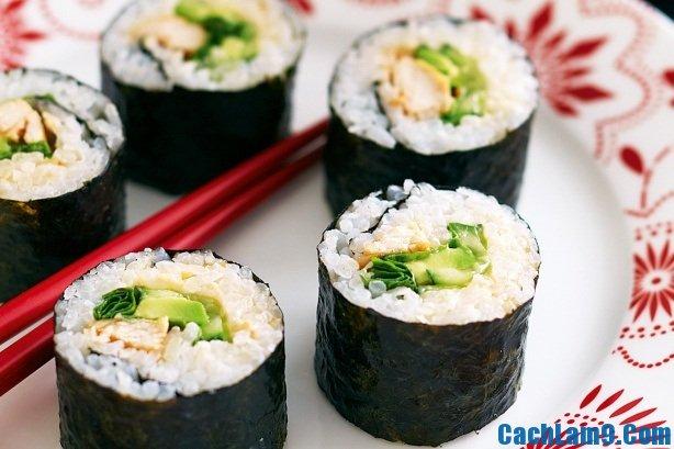 Cách làm sushi ngon và đẹp, đơn giản tại nhà