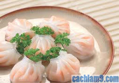 Cách làm há cảo tôm cực ngon theo hương vị Trung Quốc