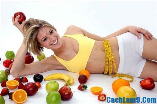 Cách giảm cân nhanh, hiệu quả và an toàn