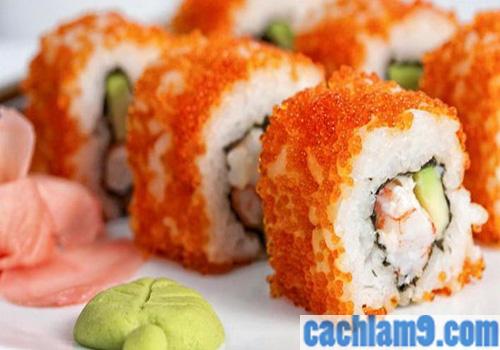 Cách làm sushi ngon tại nhà theo phong cách Nhật Bản
