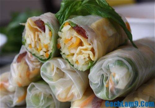 Cách làm bò bía mặn Sài Gòn ngon và đẹp