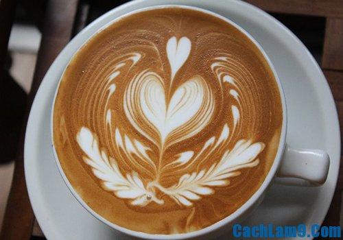 Cách pha cà phê Capuchino ngon, đẹp, đậm đà