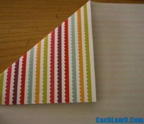 Hướng dẫn cách làm chong chóng giấy