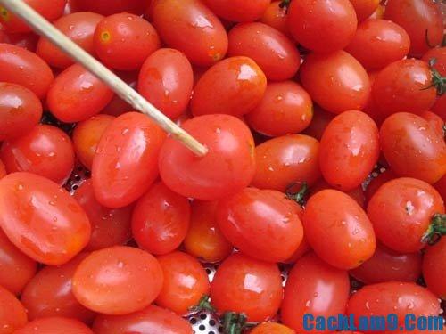 Hướng dẫn cách làm mứt cà chua ngon, dẻo và thơm