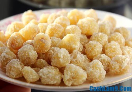 Cách làm mứt hạt sen ngon, sang trọng và đẹp